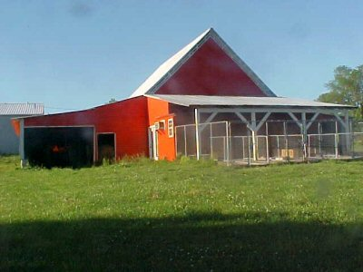 BACK OF 2ND RED BARN